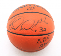 """Karl Malone Signed NBA Game Ball Series Basketball Inscribed """"H.O.F. 2010"""" (JSA COA) (See Description) at PristineAuction.com"""