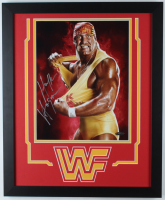 Hulk Hogan Signed 18x22 Custom Framed Photo Display (TriStar Hologram) at PristineAuction.com