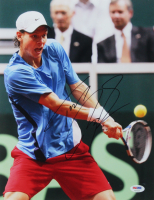 Tomas Berdych Signed 11x14 Photo (PSA COA) at PristineAuction.com