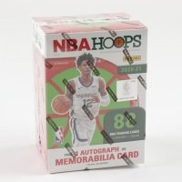 2020-21 Panini NBA Hoops Basketball Winter Holiday Blaster Box with (11) Packs at PristineAuction.com