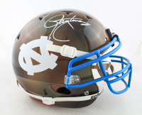 Lawrence Taylor Signed North Carolina Tar Heels Full-Size Authentic On-Field Hydro-Dipped Helmet (JSA COA) at PristineAuction.com