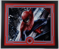 "Stan Lee Signed ""Spider-Man"" 22x26 Custom Framed Photo Display (JSA COA) at PristineAuction.com"