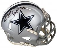 Zack Martin Signed Cowboys Speed Mini-Helmet (Beckett Hologram) at PristineAuction.com