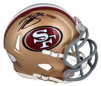 Patrick Willis Signed 49ers Speed Mini-Helmet (Beckett COA) at PristineAuction.com
