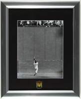 """Willie Mays Giants """"The Catch"""" 16x19 Custom Framed Photo Display with Mays HOF Commemorative Pin at PristineAuction.com"""