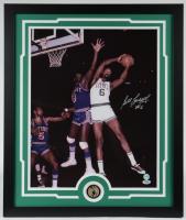 Bill Russell Signed Celtics 22x26 Custom Framed Photo Display (PSA COA & Fiterman Hologram) at PristineAuction.com