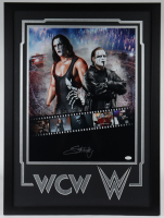 Sting Signed 23x31 Custom Framed Photo Display (JSA COA) at PristineAuction.com