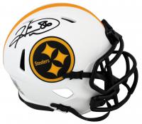 Hines Ward Signed Steelers Lunar Eclipse Alternate Speed Mini-Helmet (Beckett Hologram) at PristineAuction.com
