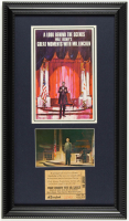"Disneyland's ""Great Moments With Mr. Lincoln"" 11x19 Custom Matted Vintage Souvenir Booklet Display with Original Vintage Disneyland Lincoln Ticket & Vintage Souvenir Postcard at PristineAuction.com"