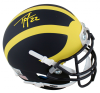 Ty Law Signed Michigan Wolverines Mini-Helmet (Beckett Hologram) at PristineAuction.com