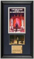 "Disneyland's ""Great Moments With Mr. Lincoln"" 11x19 Custom Framed Vintage Souvenir Booklet Display with Original Vintage Disneyland Lincoln Ticket & Vintage Souvenir Postcard at PristineAuction.com"