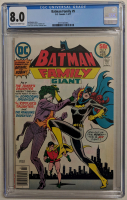 "1977 ""Batman Family"" Issue #9 DC Comic Book (CGC 8.0) at PristineAuction.com"
