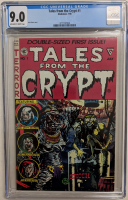 "1990 ""Tales from the Crypt"" Issue #1 EC Comic Book (CGC 9.0) at PristineAuction.com"