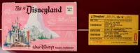 """Disneyland Fantasyland's """"Storybook Land"""" 15x26 Custom Framed Print Display with Vintage 1960s Storybook Land """"D"""" Ride Ticket & Vintage Photo Portfolio (See Description) at PristineAuction.com"""