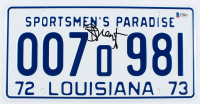 """Richard Dreyfuss Signed """"Jaws"""" Louisiana License Plate (Beckett Hologram) at PristineAuction.com"""