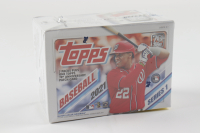 2021 Topps Series 1 Baseball Blaster Box with (7) Packs (See Description) at PristineAuction.com
