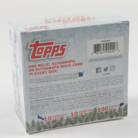 2020 Topps Holiday Mega Box with (10) Packs (See Description) at PristineAuction.com