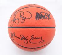 Magic Johnson, Julius Erving & Larry Bird Signed NBA Game Ball Series Basketball (Beckett COA, JSA COA & Bird Hologram) at PristineAuction.com