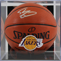 Shaquille O'Neal Signed NBA Game Ball Basketball with Display Case (Beckett COA) at PristineAuction.com