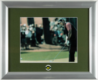 Tiger Woods Masters 13x16 Custom Framed Photo Display with Official Pin (See Description) at PristineAuction.com