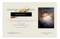"James G. Ferrara Signed Mickey Mantle Artwork - ""The Mick"" 18x24 Print (Championship Art COA) at PristineAuction.com"
