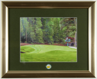 Masters 13x16 Custom Framed Textured Art Print Display with Official Pin (See Description) at PristineAuction.com