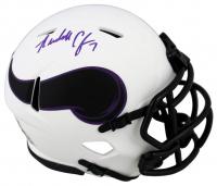 Randall Cunningham Signed Vikings Lunar Eclipse Alternate Speed Mini Helmet (Beckett Hologram) at PristineAuction.com