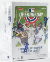 2021 Topps Opening Day Blaster Box with (11) Packs at PristineAuction.com