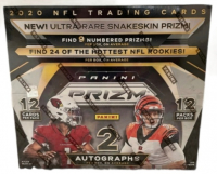 2020 Panini Prizm Football Hobby Box with (12) Packs at PristineAuction.com
