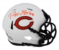Roquan Smith Signed Bears Lunar Eclipse Alternate Speed Mini Helmet (Beckett Hologram) at PristineAuction.com