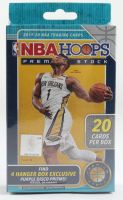 2019-20 NBA Hoops Premium Stock Basketball Hanger Box with (1) Pack at PristineAuction.com