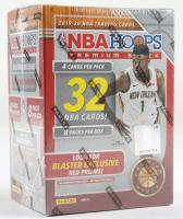 2019-20 Panini NBA Hoops Basketball Box with (8) Packs at PristineAuction.com