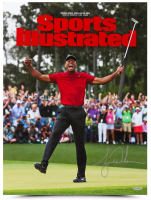 Tiger Woods Signed 2019 Masters 15x20 Photo (UDA COA) at PristineAuction.com
