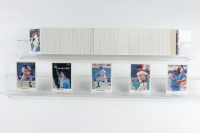 1990 Leaf Complete Set of (528) Baseball Cards with #245 Ken Griffey Jr & #220 Sammy Sosa RC at PristineAuction.com