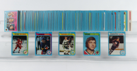 1979-80 Topps Complete Set of (265) Hockey Cards with #18 Wayne Gretzky Rookie Card (See Description) at PristineAuction.com