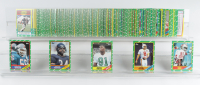 Complete Set of (396) 1986 Topps Football Cards with Jerry Rice #161 RC & Steve Young #374 RC at PristineAuction.com