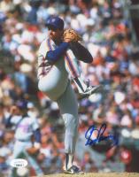 Sid Fernandez Signed Mets 8x10 Photo (JSA COA) at PristineAuction.com