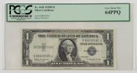 1935-H $1 Silver Certificate Bank Note (PCGS Very Choice New 64 PPQ) at PristineAuction.com