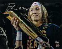 Trevor Lawrence Signed Clemson Tigers 11x14 Photo (Fanatics Hologram) at PristineAuction.com
