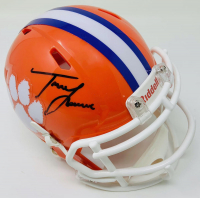 Trevor Lawrence Signed Clemson Tigers Mini Speed Helmet (Fanatics Hologram) at PristineAuction.com