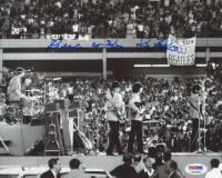 "Sid Bernstein Signed 8x10 Photo Inscribed ""Beatles at Shea"" (PSA COA) at PristineAuction.com"
