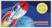 2013 Moon Landing 50th Anniversary $2 Two Dollar U.S. National Currency Green Seal Bank Note at PristineAuction.com