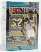 2019-20 Panini Hoops Premium Stock Basketball Blaster Box with (8) Packs at PristineAuction.com