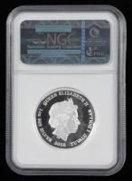 2016-P Tuvalu Star Trek Silver $1 One-Dollar Coin - Early Releases (NGC PF70 Ultra Cameo) at PristineAuction.com