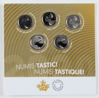 2020 Uncirculated Canadian Nickle Set with (5) Coins at PristineAuction.com