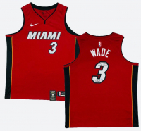 "Dwyane Wade Signed Miami Heat Jersey Inscribed ""06 Finals MVP"" (Fanatics Hologram) at PristineAuction.com"