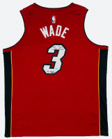"""Dwyane Wade Signed Miami Heat Jersey Inscribed """"06 Finals MVP"""" (Fanatics Hologram) at PristineAuction.com"""