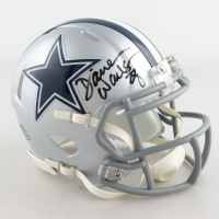 Darren Woodson Signed Cowboys Speed Mini Helmet (JSA COA) at PristineAuction.com