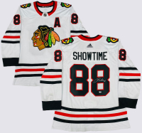 "Patrick Kane Signed Blackhawks ""Showtime"" Jersey (Fanatics Hologram) at PristineAuction.com"