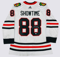 "Patrick Kane Signed Blackhawks ""Showtime"" Jersey (Fanatics Hologram) at PristineAuction.com"